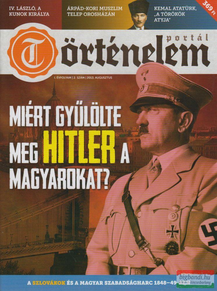 Történelemportál 2. szám 2013. augusztus