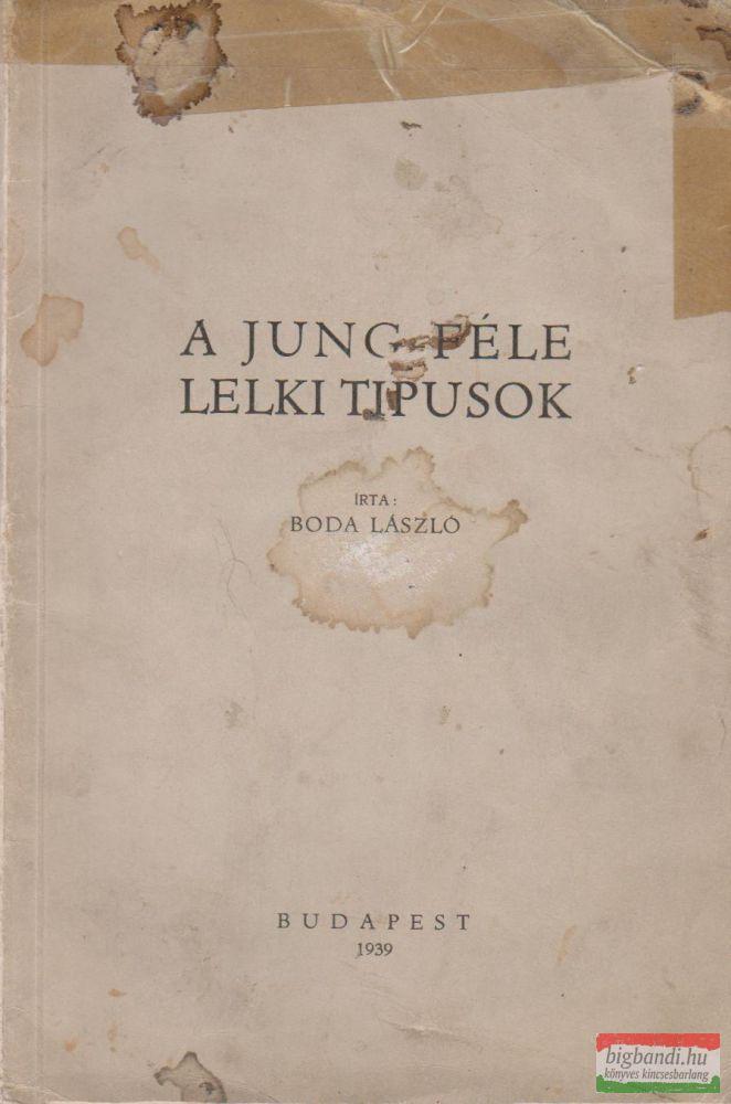 A Jung-féle lelki típusok