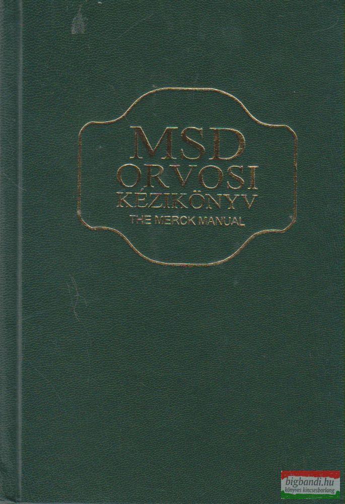 MSD orvosi kézikönyv