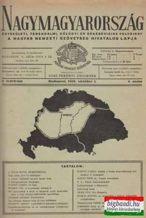 Nagymagyarország I.évfolyam/8.szám (1928)