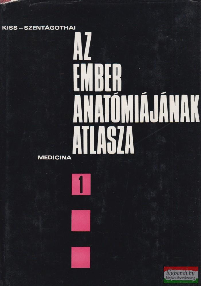 Az ember anatómiájának atlasza I-III. kötet