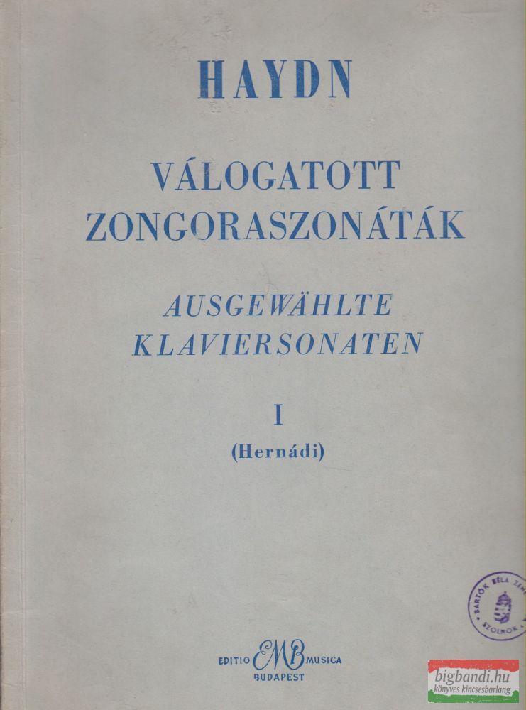 Haydn - Válogatott zongoraszonáták I.