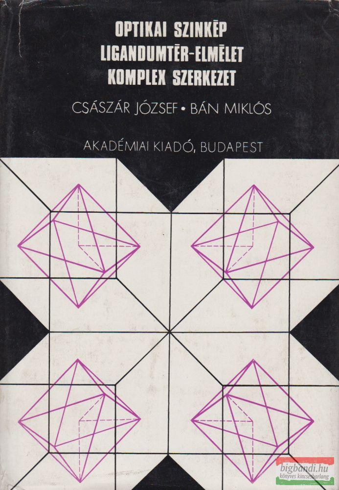 Optikai színkép, ligandumtér-elmélet, komplex szerkezet