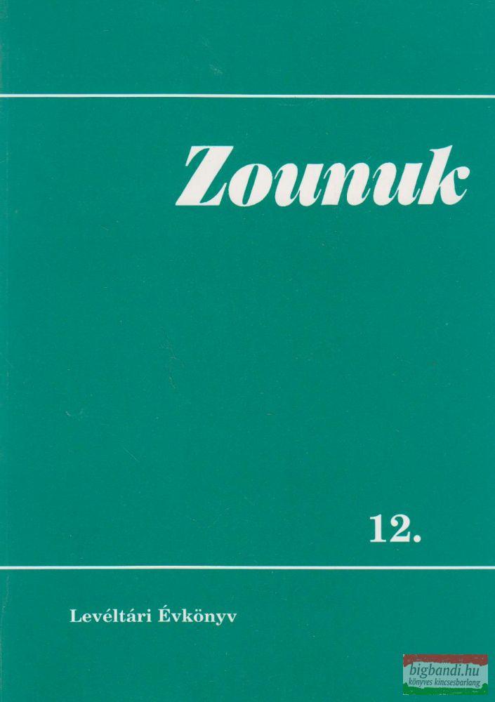 Zounuk 12. - Levéltári Évkönyv