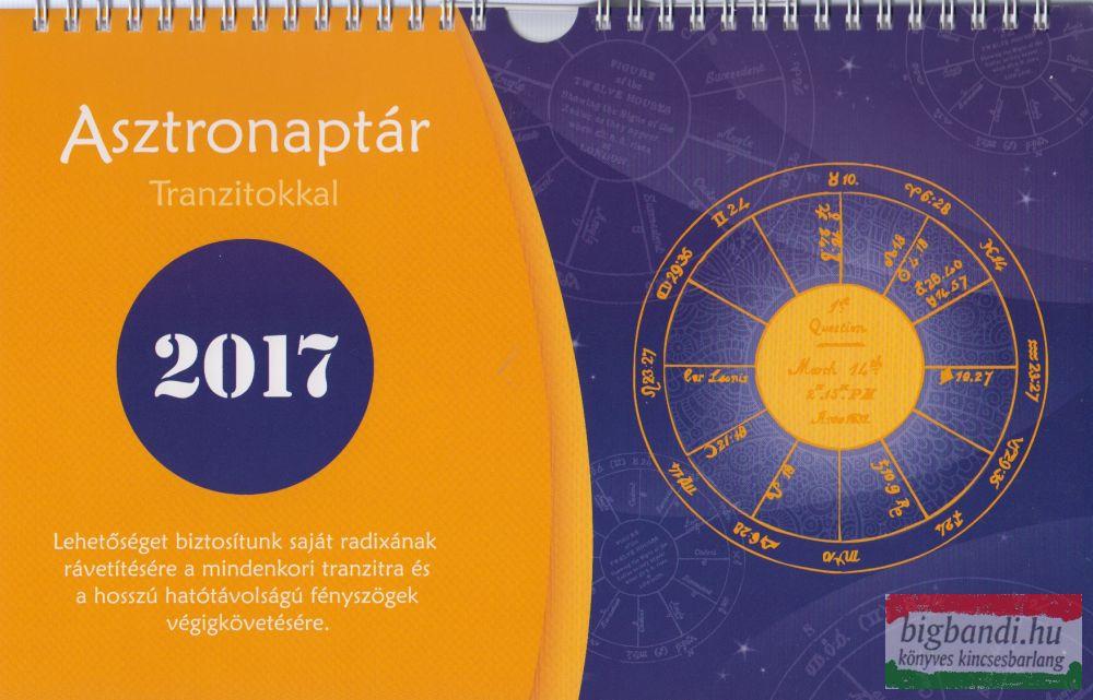 Asztronaptár 2017 - tranzitokkal