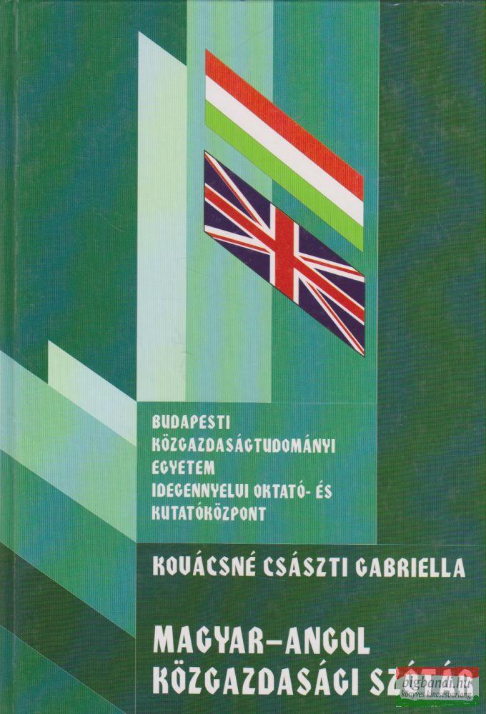 Magyar-angol közgazdasági szótár