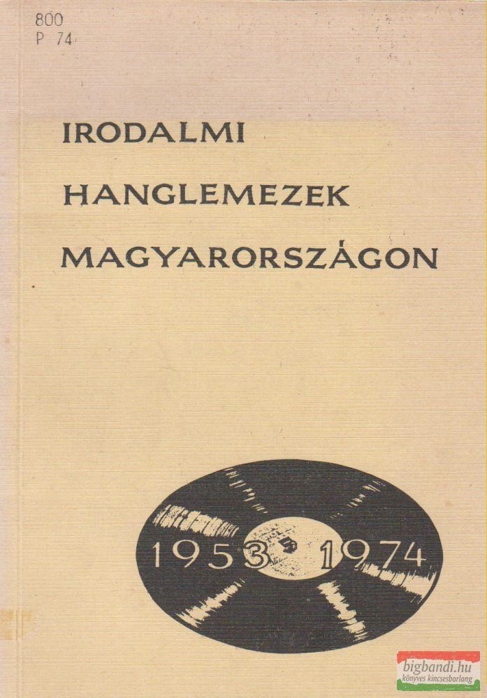 Irodalmi hanglemezek Magyarországon