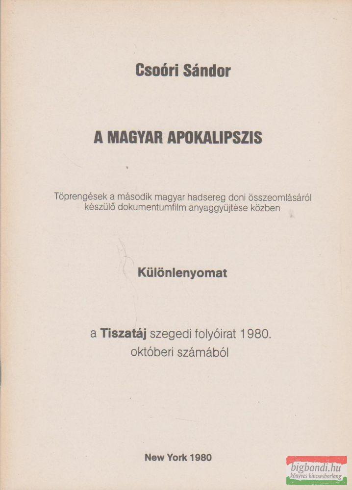 A magyar apokalipszis