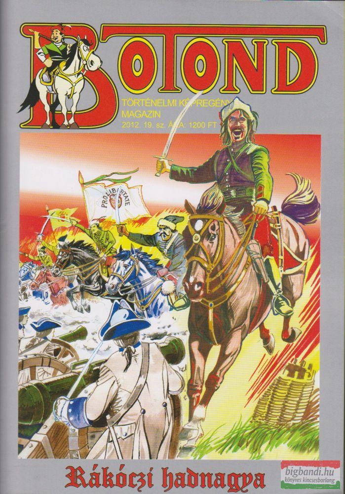Botond - történelmi képregény magazin 2012. 19. szám