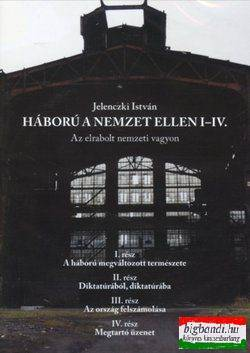 Háború a nemzet ellen I-IV. DVD