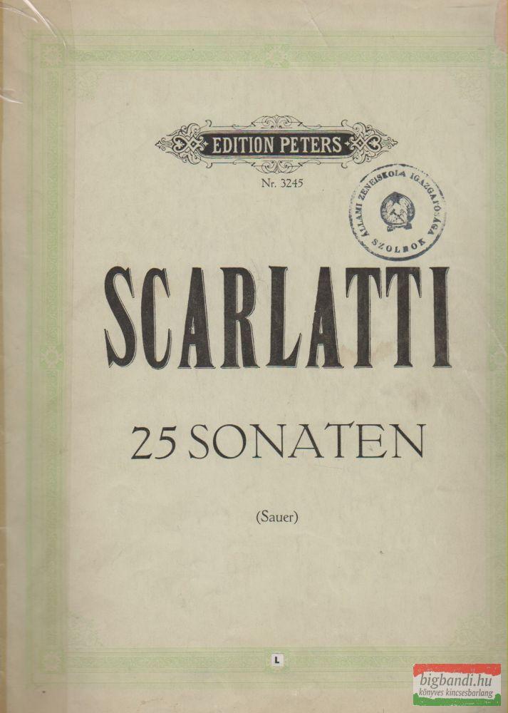 Scarlatti - 25 Sonaten
