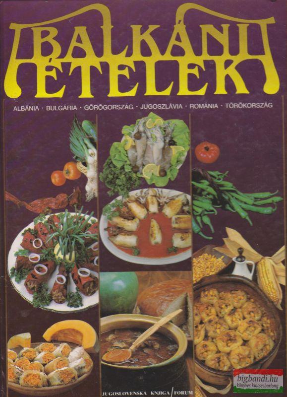 Balkáni ételek