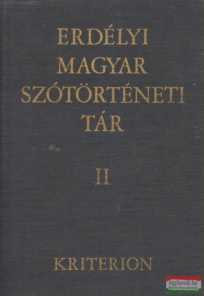 Szabó T. Attila - Erdélyi magyar szótörténeti tár II. kötet
