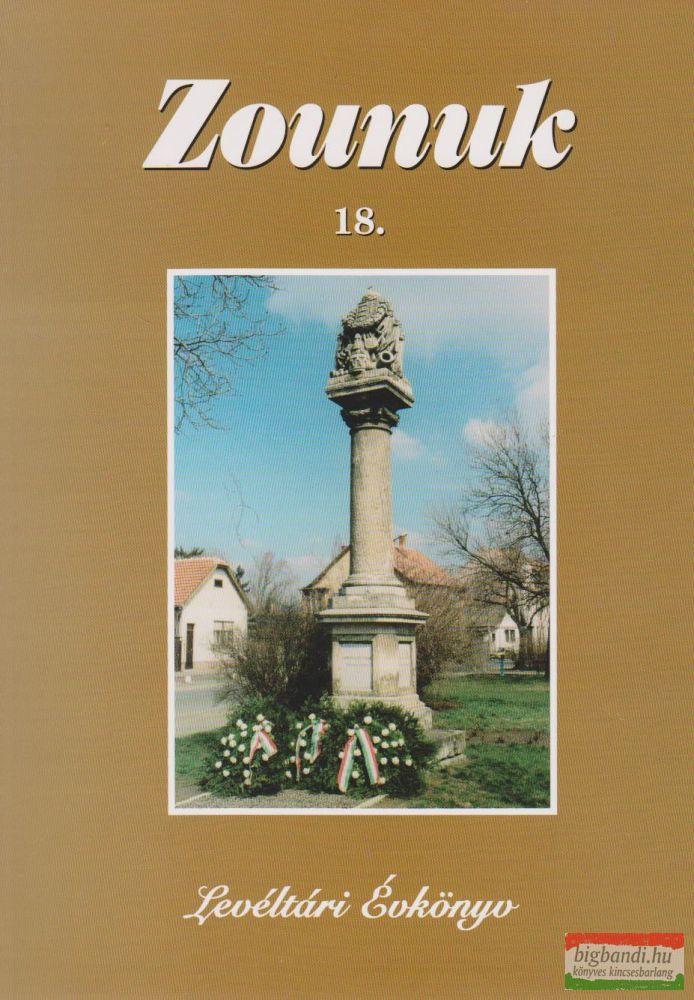 Zounuk 18. - Levéltári Évkönyv