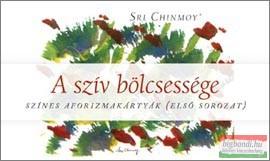 Sri Chinmoy - A szív bölcsessége - színes aforizmakártyák (első sorozat)