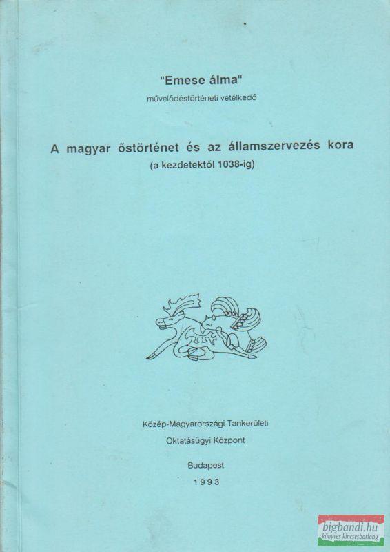 """""""Emese álma"""" művelődéstörténeti vetélkedő (bibliográfia)"""