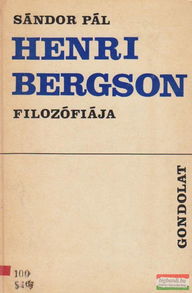 Henri Bergson filozófiája