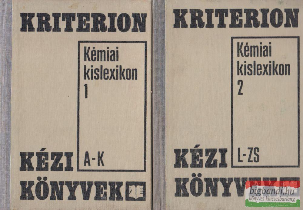Kémiai kislexikon 1-2.