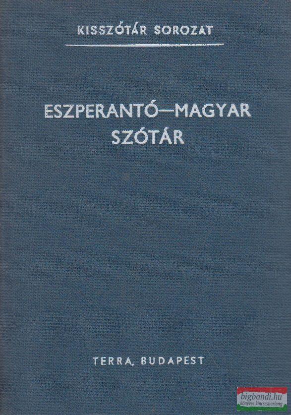 Eszperentó-magyar szótár
