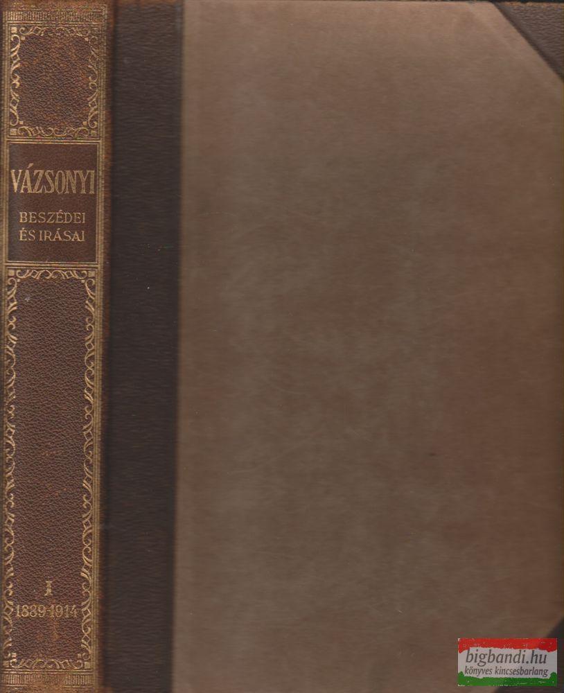 Vázsonyi Vilmos beszédei és írásai I. (töredék)