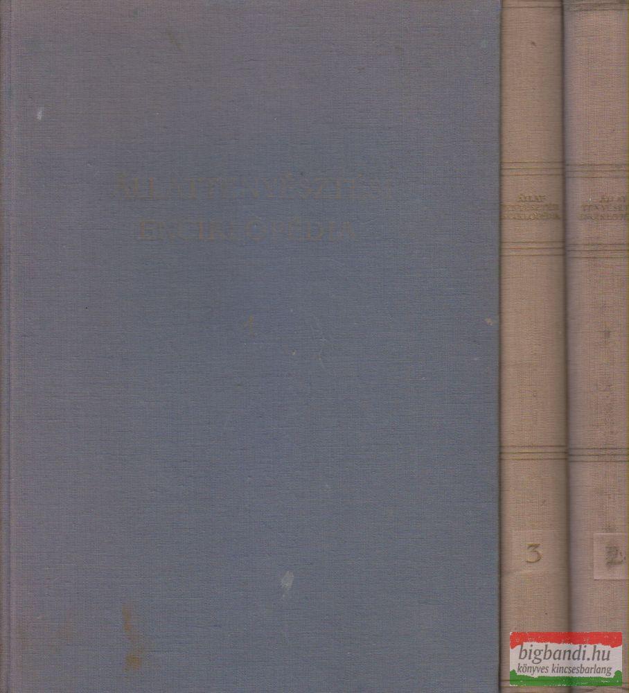 Dr. Horn Artúr szerk. - Állattenyésztési enciklopédia I-III.