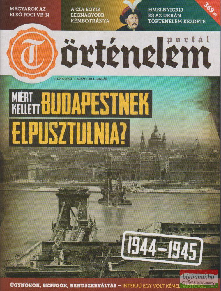 Történelemportál 4. szám 2014. január