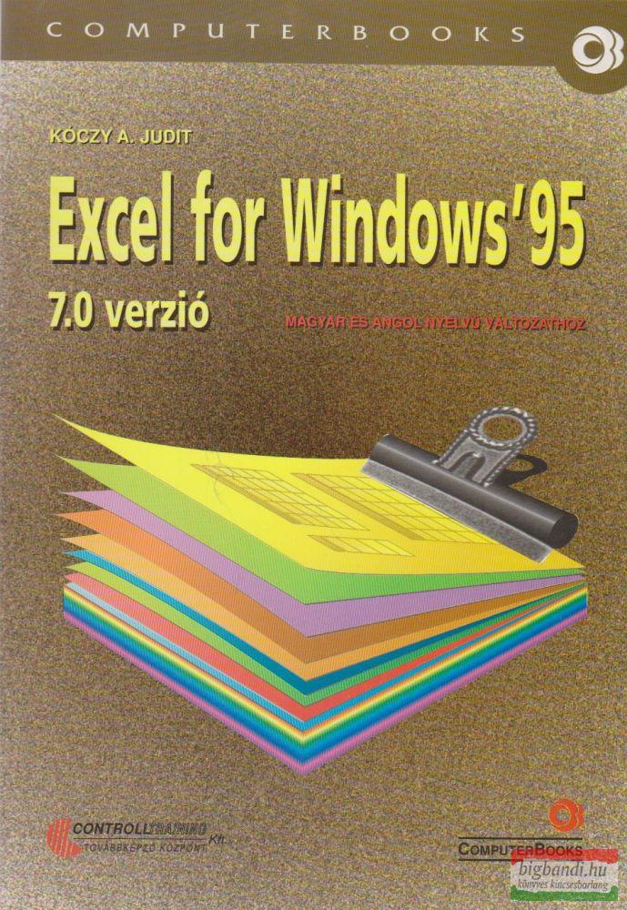 Excel for Windows '95 - 7.0 verzió