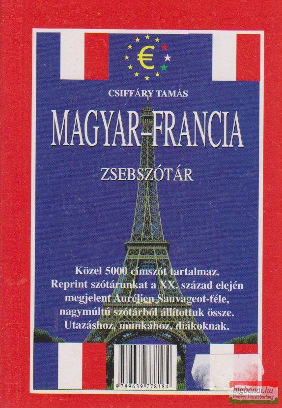 Csiffáry Tamás - Magyar-francia zsebszótár / Francia-magyar zsebszótár