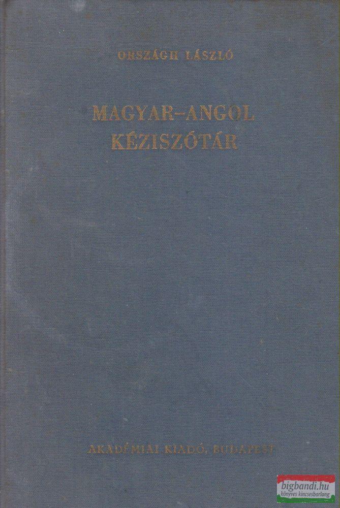 Országh László - Magyar-angol kéziszótár