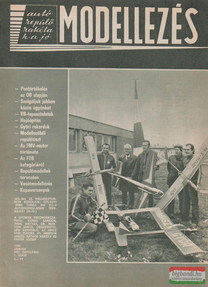Modellezés XXII. évfolyam, 1980/1.6.7.8.9.10.12.szám