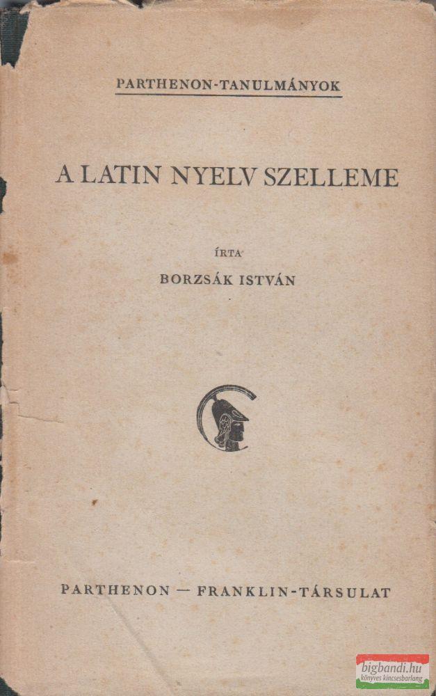 A latin nyelv szelleme