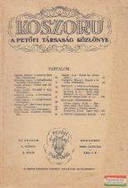 Koszorú - A Petőfi Társaság Közlönye / Új folyam I. kötet 2. szám
