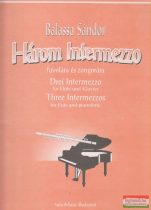 Három Intermezzo fuvolára és zongorára