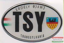 Autós matrica - Transsylvania, ovális