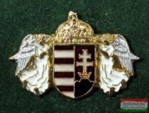 Angyalos koronás címer
