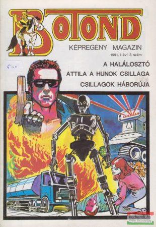Botond - történelmi képregény magazin 1991. 3. szám