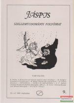 Jáspis - Szellemtudományi folyóirat 9. III. Évf. 1992 szeptember