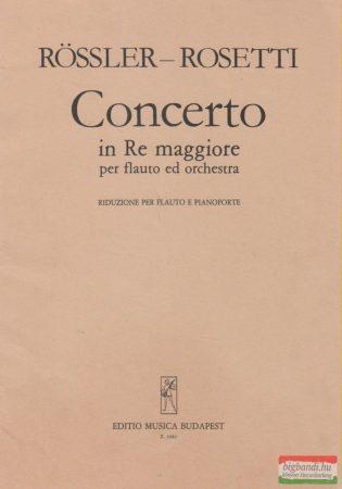 Concerto in Re maggiore per flauto ed orchestra