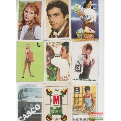 Kártyanaptárak 1970. évi