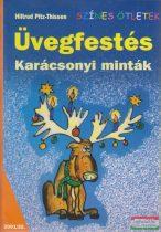 Hiltrud Pitz-Thissen - Üvegfestés - Karácsonyi minták