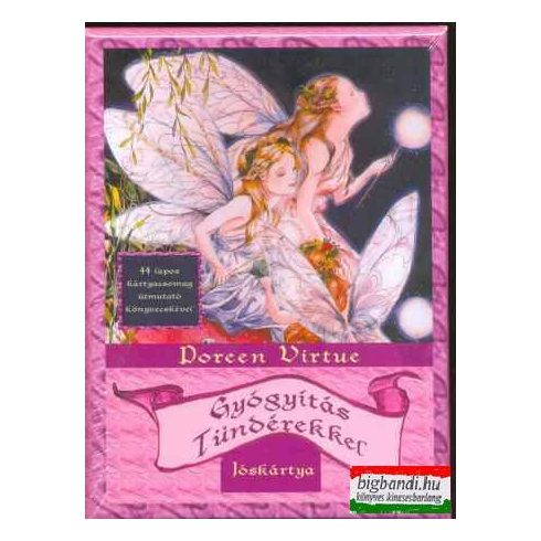 Doreen Virtue - Gyógyítás tündérekkel jóskártya