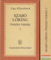 Szabó Lőrinc összes versei I-II.