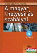 A magyar helyesírás szabályai - 4 az egyben