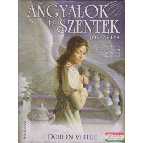 Doreen Virtue - Angyalok és szentek jóskártya