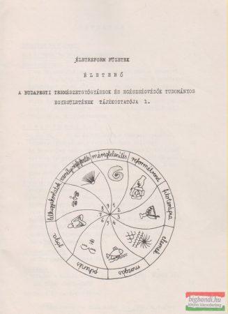 Életerő - A Budapesti Természetgyógyászok és Egészségvédők Tudományos Egyesületének tájékoztatója 1.