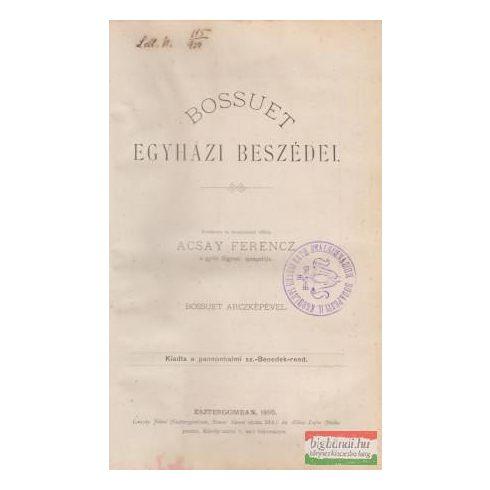 Bossuet egyházi beszédei I.