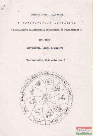 A reflexológia kiskátéja III. - Lábtérképek, ábrák, táblázatok