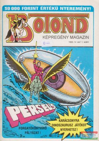 Botond - történelmi képregény magazin 1993. 1. szám