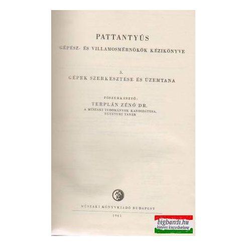 Pattantyús gépész- és villamosmérnökök kézikönyve 3.