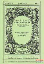 Csákváry Ferenc szerk. - Hadtörténelmi Közlemények 120. évfolyam 2007. december 4. szám